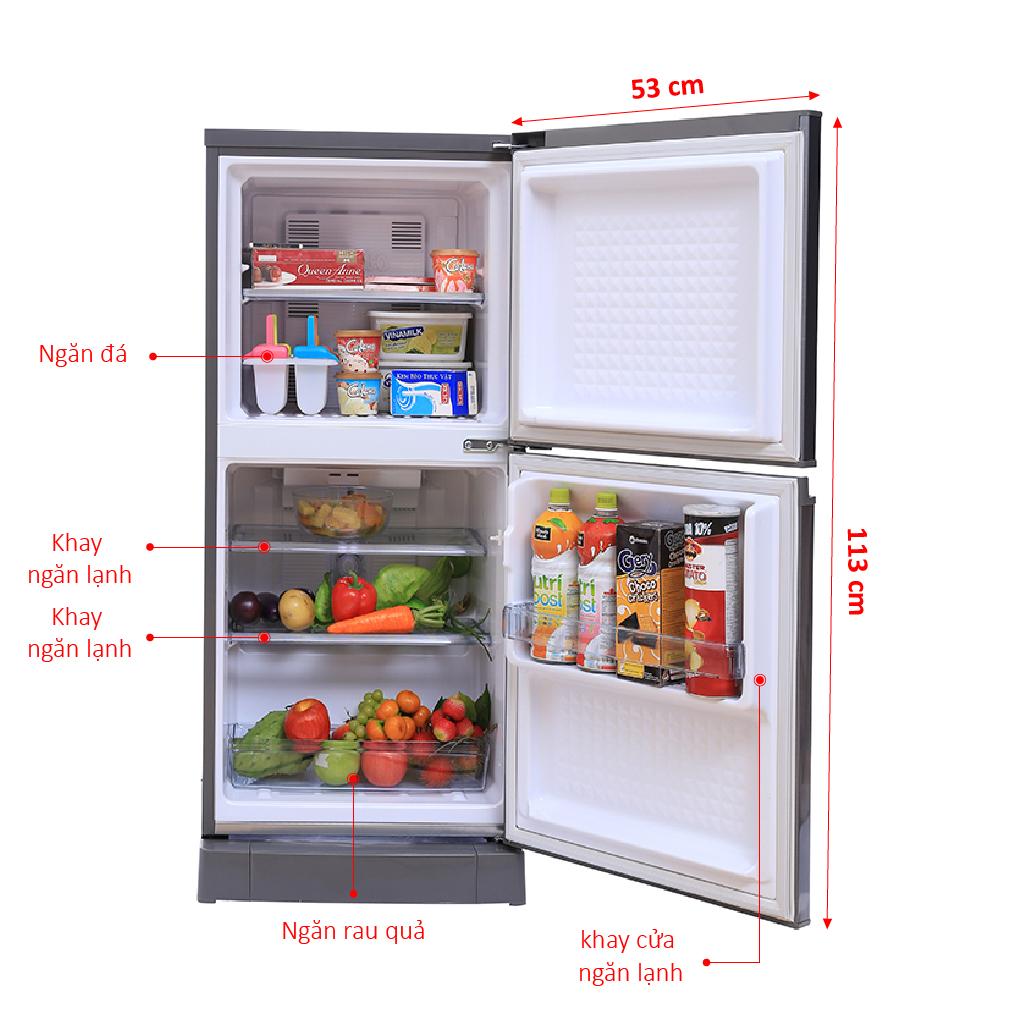 Đánh Giá Tủ Lạnh Panasonic 135 Lít NR-BJ158SSVN Khử Mùi & Diệt Khuẩn
