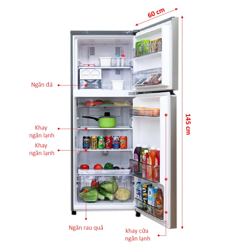 Đánh Giá Tủ Lạnh Panasonic 234 Lít NR-BL267PSVN Công Nghệ Inverter